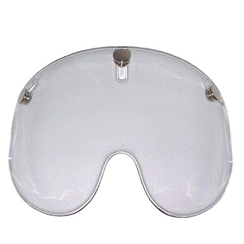 Bandit Shorty visiera per casco Jet con visiera corta-, Clear, Taglia unica