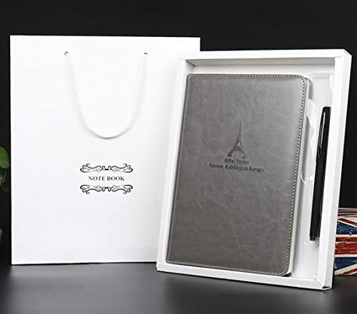 Fournitures de Bureau Scolaires Ensemble de stylos pour Ordinateur Portable en Cuir de qualité supérieure (Gris) B07MCT271L | Stocker