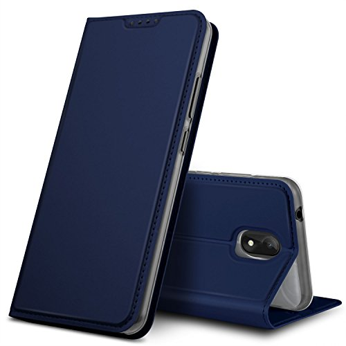 GeeMai Wiko Lenny 5 Hülle, Premium Flip Case Tasche Cover Hüllen mit Magnetverschluss [Standfunktion] Schutzhülle Handyhülle für Wiko Lenny 5 Smartphone, Blau