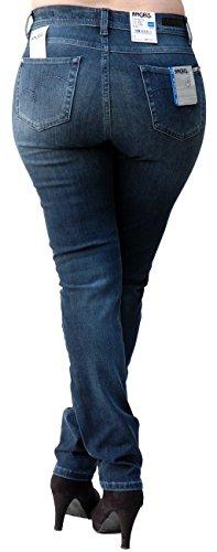 """Damen Jeans """"Skinny 888"""" Skinny Fit Darkblue"""