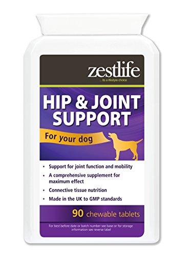 Zestlife Soporte de cadera y articulación para perros 90 tabletas