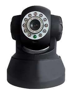 Home Confort CAM-I49MN Eurotas Kit de surveillance vidéo Wi-Fi intérieur motorisé avec vision nocturne 10 LED