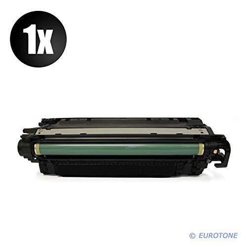 1x Eurotone Remanufactured Toner für HP Color Laserjet CP 5225 XH DN N ersetzt CE740A 307A (Hp Cp5225 Toner)