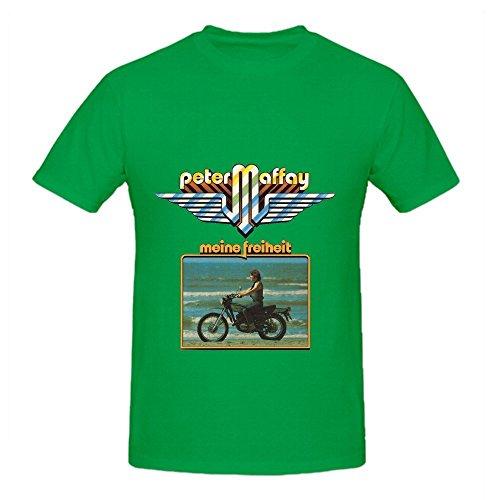 Peter Maffay Meine Freiheit Roll Herrens O Neck Cute Tee Shirts XXX-Large