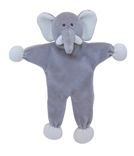 Einfach Fido Ellie Elefant Stuffless Spielzeug, 22,9cm grau -