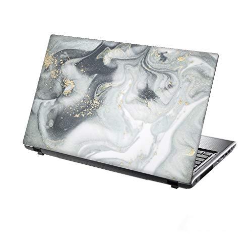TaylorHe 39,6cm 38,1cm Notebook Skin Vinyl Aufkleber mit farbigen Mustern und Leder Effekt Laminat