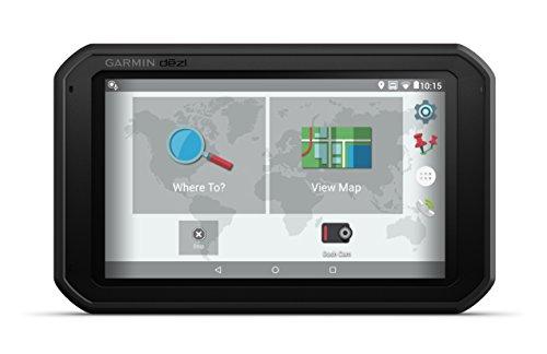 Garmin dezlCam785 Full EU LMT-D Navigationshandgerät - Europakarte inklusiv lebenslangen Kartenupdates, LKW-spezifische Routing und Funktionen Schwarz