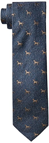cole-haan-mens-kenmore-horse-motif-tie-teal-one-size