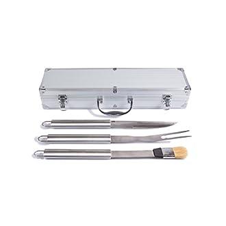 Grillbesteck Set Aluminium Koffer