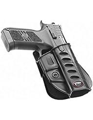 Ocultar Fobus Concealed Carry 5cm cinturón Holster para CZ 75P-07deber y P09