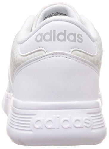 adidas Damen Lite Racer W Turnschuhe Blanco (Ftwbla / Ftwbla / Onicla)