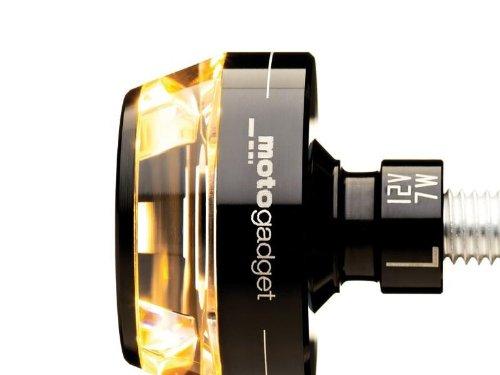 Preisvergleich Produktbild Motogadget Motorradblinker LED Lenkerendenblinker m-Blaze schwarz rechts
