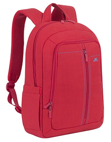 "RivaCase 7560 Laptop Backpack 15.6"", Zaino per Laptop Fino a 15.6"", Rosso"