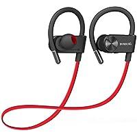 Cuffie Bluetooth Auricolare Wireless Sportive Palestra Stereo con Microfono per iPhone ,iPad , Samsng , Huawei , Sony , Nexus ,Tablet ed Altri Smartphone
