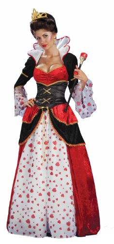 (Alice In Wonderland Queen Of Hearts Costume Adult Standard)