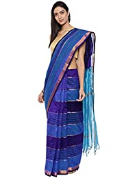 CLASSICATE From the house of Classicate From The House Of The Chennai Silks - Kora Silk Cotton Saree - Multicolor - (CCMYSC9487)