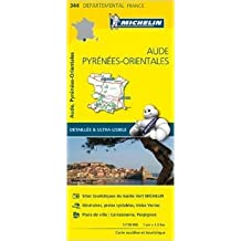 Carte Aude, Pyrénées-Orientales Michelin de Collectif Michelin ( 1 avril 2015 )