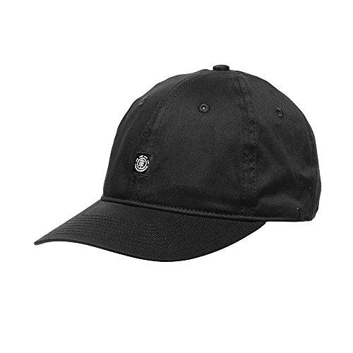 Element Herren Fluky Dad Cap Kappe All black