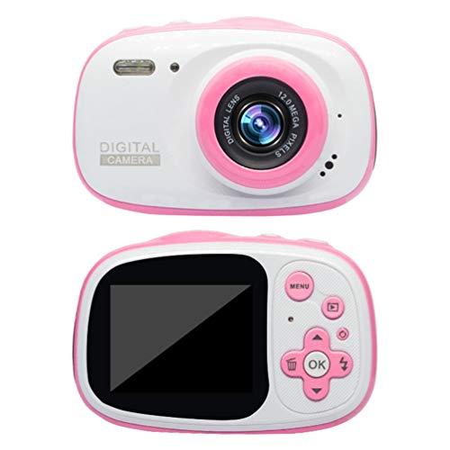 CHOULI WDC-3330 Outdoor Kinderkamera 720P IP68 wasserdichte 6X Digital Zoom Cam Pink Zoom Digital Cam