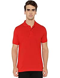 Krishnile Men Casual / Plain / Solid / Basic Cotton Short Sleeves Polo Neck T-Shirt - B06XT4C81F