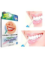 Angmile Teeth Whitening Kit Tooth Cleaning Sticks Anti-Coffee Tea Stain With 25 Replacement Head Eraser Personal Care