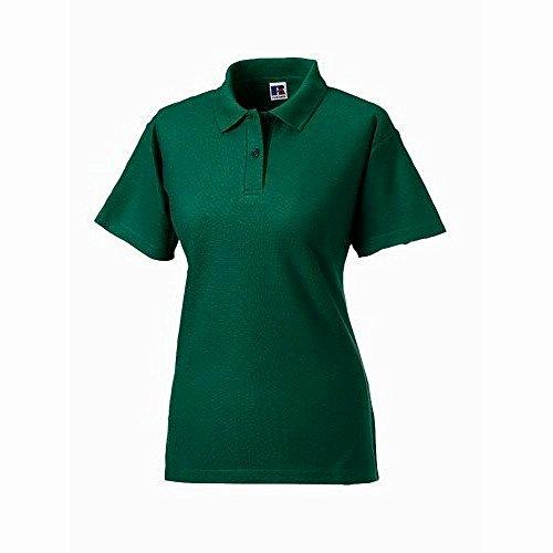 Polo à manches courtes Jerzees Colours pour femme Vert bouteille