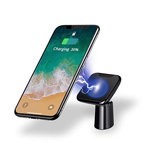 Cyond Wireless Charger Magnetisches kabelloses Ladegerät Autoladegerät Handys Halterung Magnet Qi Schnellladegerät für Samsung Galaxy S10/S9/Note 9/S8/S7, iPhone XS/max/8/iPhone X usw (Tablet Samsung 4g Note)