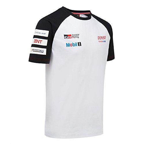 toyota-gazoo-racing-team-t-shirt-ty11t1-xl-blanc-blanc