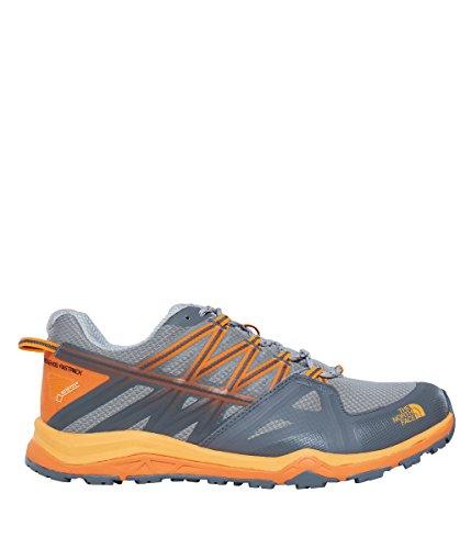 The North Face M Hedgehog Fastpack Lite Gtx, Chaussures de Randonnée Homme, 7 EU TNF Black/Tibetan Orange