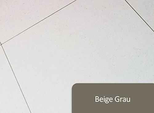 Beige Fliesen-böden Legen (2K Fliesenlack Wand & Bodenfliesen Lack Fliesenfarbe in RAL-Farben seidenglänzend | BEKATEQ Bodenfliesen Lack Wandfliesen Fliesen Lack Badsanierung Badezimmer Fliesen Streichen in Bad, Flur, Küche Lackieren | SCHLAGFEST, ABRIEBFEST, STRAPAZIERFÄHIG, CHEMIKALIENBESTÄNDIG 2-K Fliesenlack Wand (1KG, RAL7006 Beige Grau))