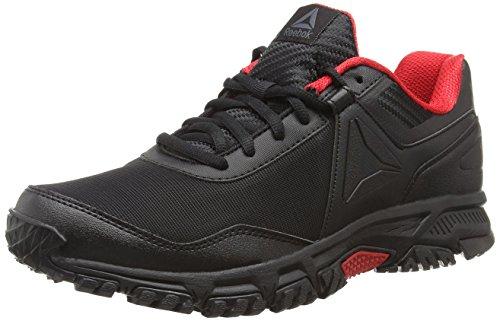 Reebok Ridgerider Trail 3.0, Zapatillas de Marcha Nórdica para Hombre, Negro (Black/Primal Red 0), 40.5 EU