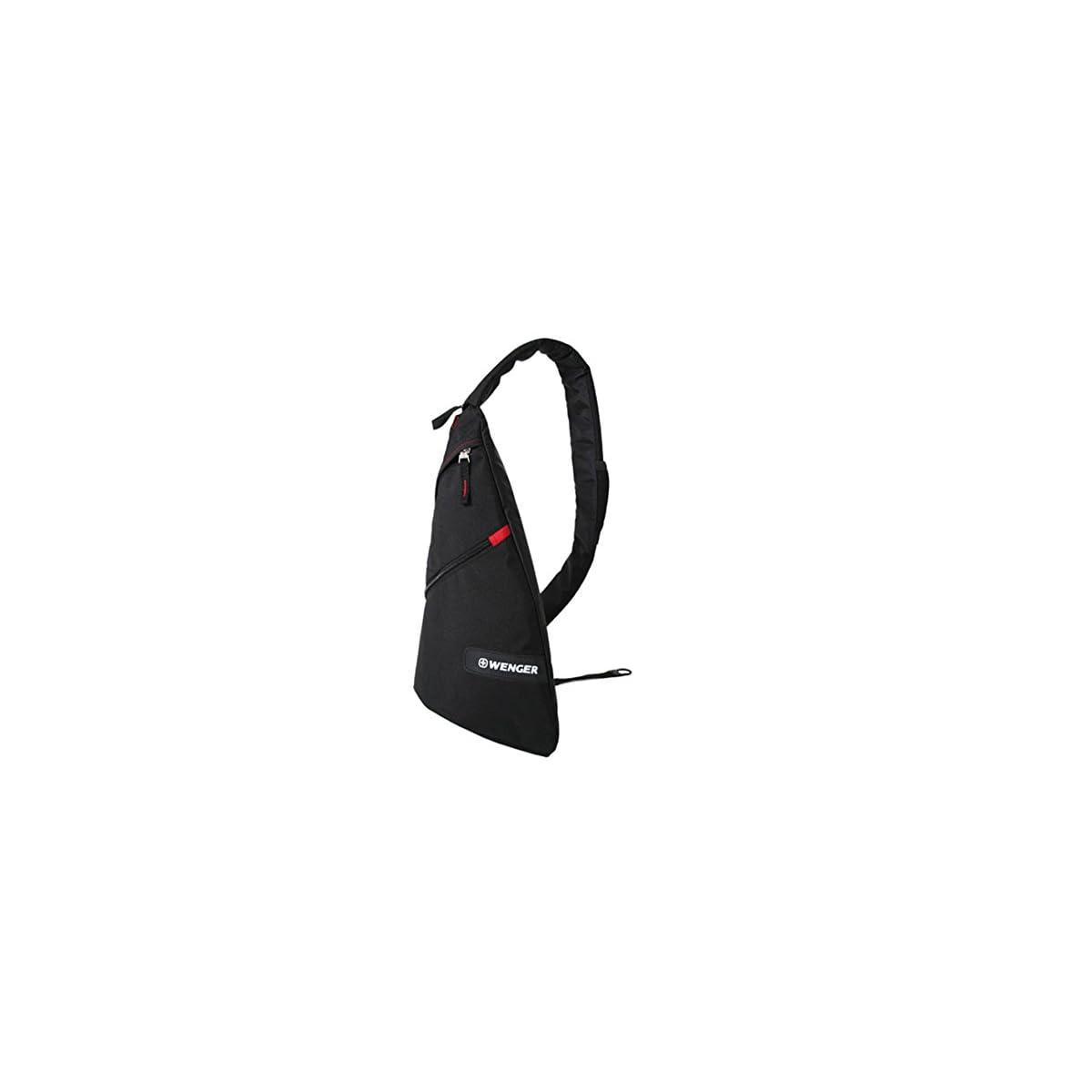 41IxQImWebL. SS1200  - Wenger Mochila Casual, 12 litros, negro (Negro) - WG18302130