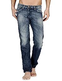 Diesel - Jeans - Homme bleu Dark-Blue/Faded (Dunkelblau/Verwaschen)