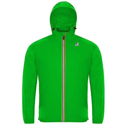 K-WAY Jacke Herren Green Fluo