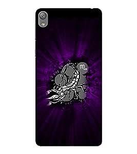 EPICCASE Sting Mobile Back Case Cover For Sony E5 (Designer Case)