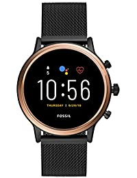 Fossil Gen 5 Julianna Stainless Steel Touchscreen Smartwatch with Speaker, Heart Rate, GPS and Smartphone Notifications - FTW6036