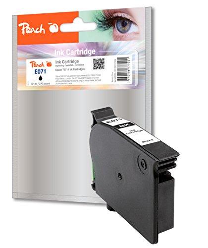 Preisvergleich Produktbild Peach Tintenpatrone schwarz kompatibel zu Epson T0711