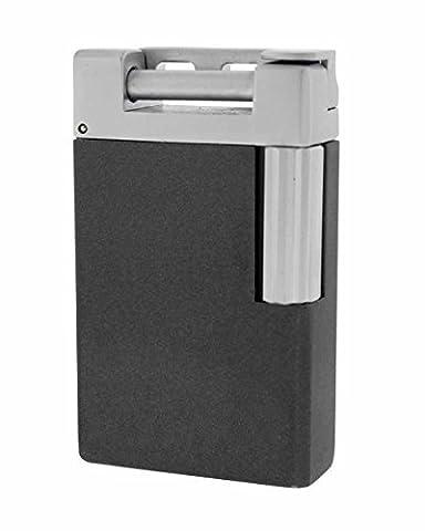 JetLine Opal Single Traditional Flame Pipe Lighter in an Attractive Gift Box Warranty Gunmetal by JetLine