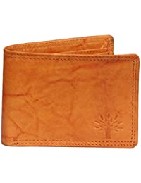 Zenno India Pure Goat Leather Wallet (Tan)