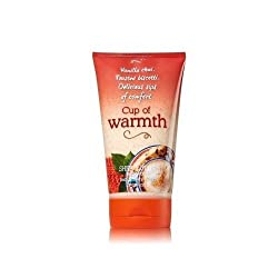 Bath & Body Works CUP OF WARMTH Signature Collection Shea Butter Body Scrub 7.7 oz / 220 g