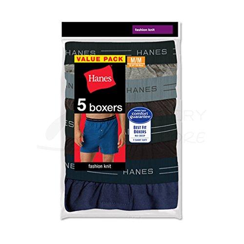 Hanes Herren Boxershort Verschieden (Assorted, Comfort Flex Waistband) Large (Boxer-shorts Hanes)