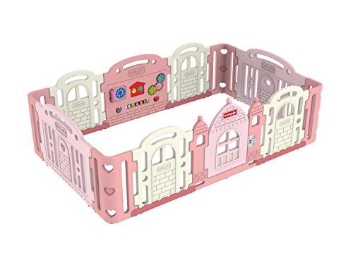 Dwinguler - Castle Baby Pink - Playpen - Kinderschloss - Laufgitter