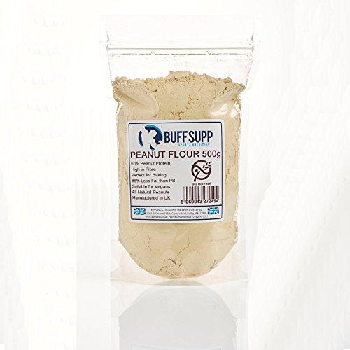 Farina d'arachidi premium 500 g (17,63 oz)