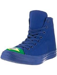 Converse Unisex Chuck Taylor All Star Hi Basketball Shoe Blue/Green/a 7.5 B(M) US Women / 5.5 D(M) US Men