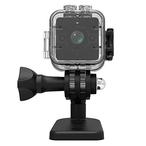Morehappy7 Wasserdichte Mini Kamera HD Sport Action Kamera 16 GB Nachtsicht Camcorder 1080P DV Video Recorder Infrarot Auto DVR Kamera Bewegungserkennung Fahrrad Motorrad Skifahren Schnorcheln