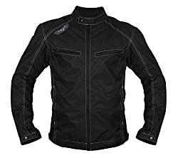 Vega JK 49 Riding Jacket (Black, Medium)