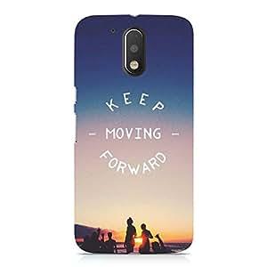 Hamee Designer Printed Hard Back Case Cover for Motorola Moto G4 Plus Design 5701