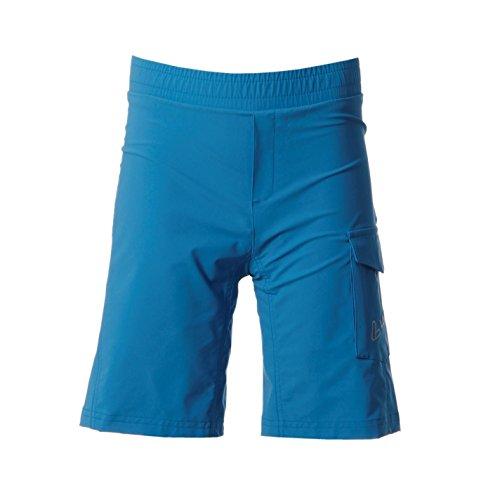 LOeffler Bike Kinder Shorts Radlerhose Sporthose Radfahren Kurze Hose Sportshorts Blau