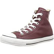 Bordo Bordeaux Converse All Star Hi Canvas Sneaker Unisex Ad