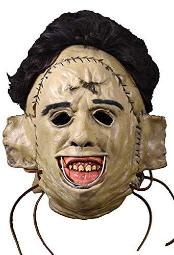 hainsaw Massacre Latex Maske Leatherface 1974 - Material: Kunststoff, in Originalkarton-Design. Hersteller: Trick or Treat. ()
